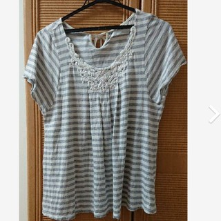 クリアインプレッション(CLEAR IMPRESSION)のクリアインプレッション ボーダーTシャツ(カットソー(半袖/袖なし))