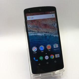 エルジーエレクトロニクス(LG Electronics)の比較的美品! google Nexus5  simフリー  16gb(スマートフォン本体)