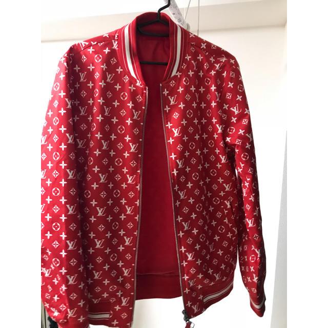 LOUIS VUITTON(ルイヴィトン)のシュプリーム ルイヴィトン ナイロン ジャケット メンズのジャケット/アウター(ナイロンジャケット)の商品写真