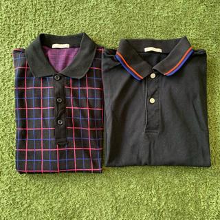 ジーユー(GU)のメンズ ポロシャツ(ポロシャツ)