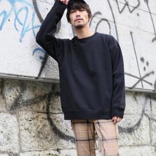 レイジブルー(RAGEBLUE)の長袖 シャツ スウェット ブラック 黒色(スウェット)