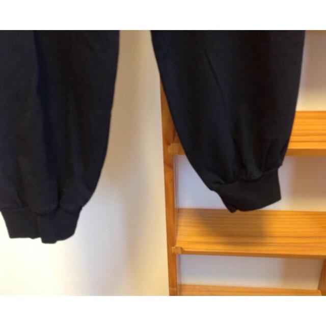 Yohji Yamamoto(ヨウジヤマモト)のヨウジヤマモト プールオム サルエルパンツ ブラック80's~90's メンズのパンツ(サルエルパンツ)の商品写真