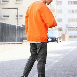 レイジブルー(RAGEBLUE)の長袖 シャツ スウェット オレンジ (スウェット)