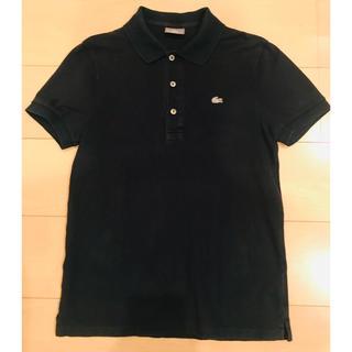 ラコステ(LACOSTE)のLACOSTE ラコステ シルバーワニ ネイビーポロシャツ (ポロシャツ)
