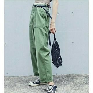 トゥデイフル(TODAYFUL)の【美品】TODAYFUL Vintageカーゴパンツ白 トゥデイフル(ワークパンツ/カーゴパンツ)