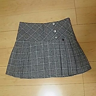 シマムラ(しまむら)のグレンチェック ボックス プリーツ スカート しまむら(ひざ丈スカート)