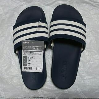 アディダス(adidas)の7月末頃まで【新品未使用】adidas シャワーサンダル 23.5(サンダル)