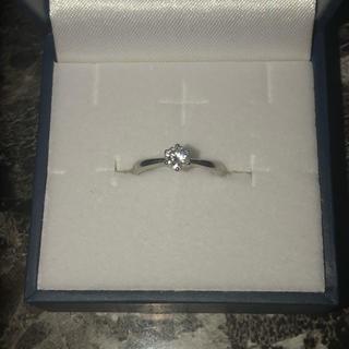 ジュエリーツツミ(JEWELRY TSUTSUMI)のプラチナ ダイヤモンドリング 0.238 4号(リング(指輪))