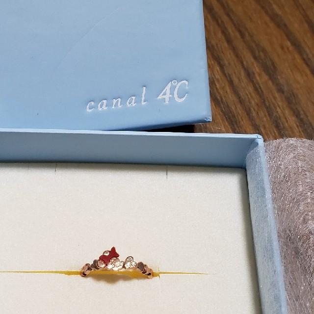 canal4℃(カナルヨンドシー)のcanal 4℃ミニーちゃんリング レディースのアクセサリー(リング(指輪))の商品写真
