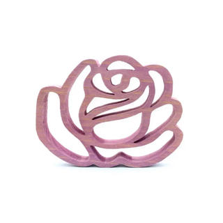 538 Wooden rose B3/秋田杉(インテリア雑貨)