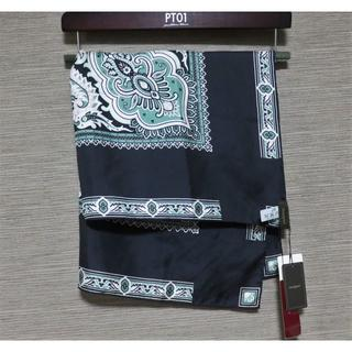 アッシュペーフランス(H.P.FRANCE)の 新品 manipuri シルク バンダナ スカーフ 65×65cm ブラック (バンダナ/スカーフ)