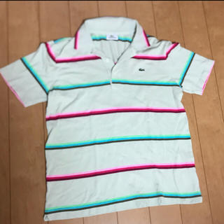 ラコステ(LACOSTE)のラコステ ポロシャツ  美品 サイズM   (ポロシャツ)