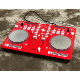 Vestax Spin2 DJコントローラー 限定色 レッド ios対応 (DJコントローラー)