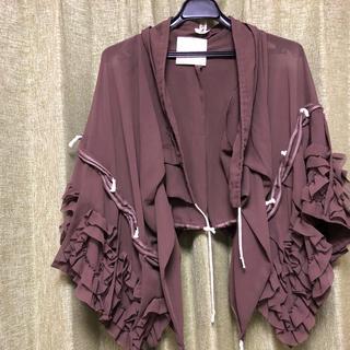 コムデギャルソン(COMME des GARCONS)のコムデギャルソン ポンチョ 巻きスカート(ポンチョ)