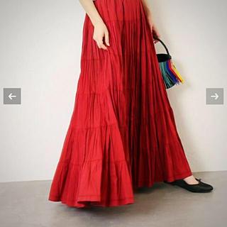 デミルクスビームス(Demi-Luxe BEAMS)のイエナ別注 マリハ 草原の虹 スカート(ロングスカート)
