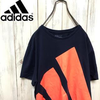 アディダス(adidas)の【希少】アディダス 超ドデカパフォーマンスロゴプリントTシャツ(Tシャツ/カットソー(半袖/袖なし))