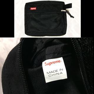 シュプリーム(Supreme)のSupreme Mesh Organizer Bags 15ss ブラック(セカンドバッグ/クラッチバッグ)