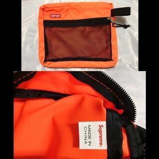 シュプリーム(Supreme)のSupreme Mesh Organizer Bags 15ss オレンジ(セカンドバッグ/クラッチバッグ)