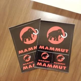 マムート(Mammut)の新品 1枚588円 2枚 1111円 マムート  ポストカード ステッカー(登山用品)