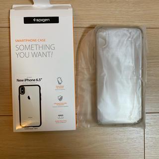 シュピゲン(Spigen)の【Spigen スマホケース iPhone XS Max (クリスタル クリア)(iPhoneケース)