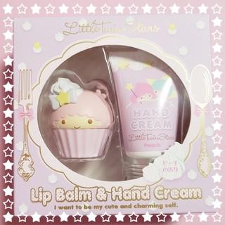 サンリオ(サンリオ)の新品♡ キキララ リップバーム & ハンドクリーム セット(リップケア/リップクリーム)