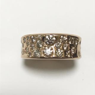 【カシケイ】メランジェ 1.55ct ダイヤモンド リング(リング(指輪))