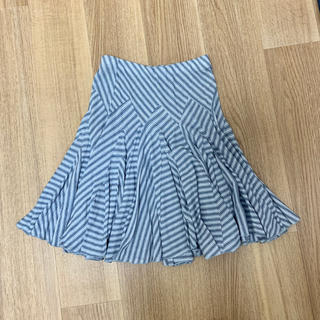 ラルフローレン(Ralph Lauren)の一度のみ着用ラルフローレンフレアスカート二万円以上の品(ひざ丈スカート)