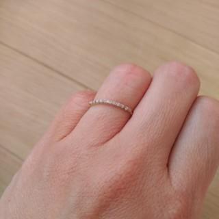 アーカー(AHKAH)のシンプルリング(リング(指輪))