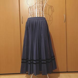 ジェーンマープル(JaneMarple)のDans Le Salon プリーツロングスカート(ロングスカート)