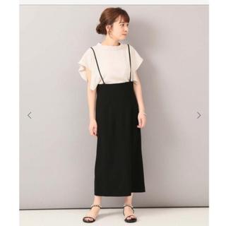 ノーブル(Noble)の【新品・未使用】NOBLE サロペットスカート (サイズ38)(サロペット/オーバーオール)