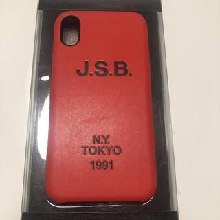 サンダイメジェイソウルブラザーズ(三代目 J Soul Brothers)のJ.S.B. iPhoneX ケース(iPhoneケース)