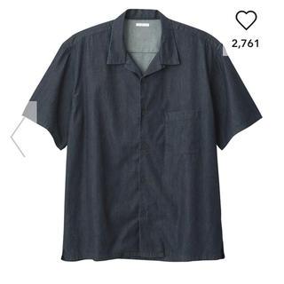 GU - オープンカラー ビッグシャツ
