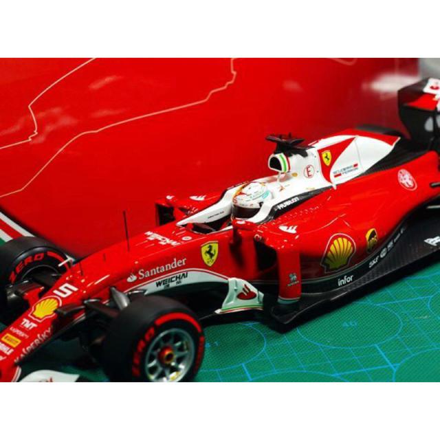 Ferrari(フェラーリ)の1/18 BBR フェラーリ SF16-H ベッテル 中国グランプリ エンタメ/ホビーのおもちゃ/ぬいぐるみ(ミニカー)の商品写真
