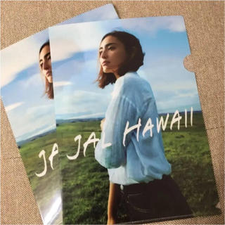JAL(日本航空) - JAL クリアファイル HAWAII 長谷部潤