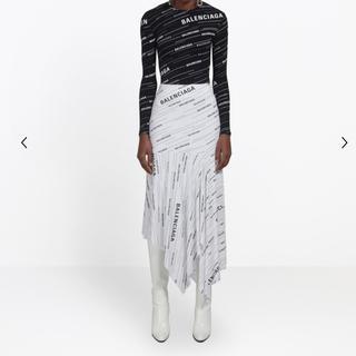 バレンシアガ(Balenciaga)のバレンシアガ  ヴォラン スカート  アシメ スカート(ロングスカート)