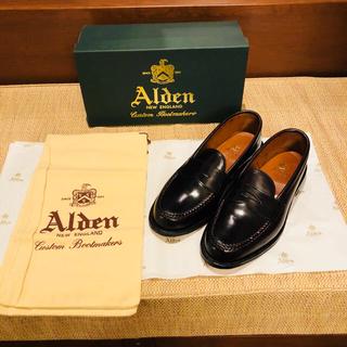 オールデン(Alden)のオールデン コードバン バーガンディ ローファー 986(ドレス/ビジネス)