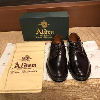 Alden - オールデン 990 コードバン バーガンディ 27.5cm