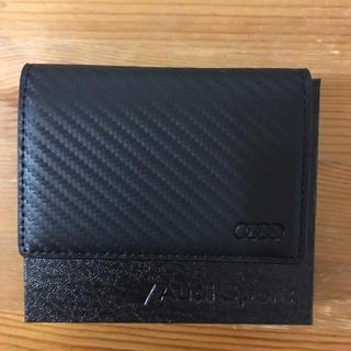 アウディ(AUDI)のアウディ カードケース (未使用品)(名刺入れ/定期入れ)