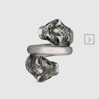 グッチ(Gucci)のGUCCI タイガーヘッド リング(リング(指輪))