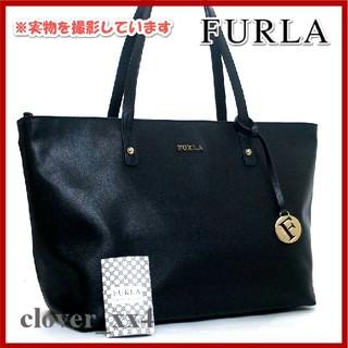 3c1478b664a3 フルラ(Furla)のフルラ トートバッグ 美品 ブラック レザー FURLA バッグ 黒 チャーム