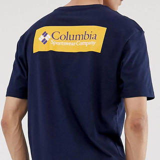 コロンビア(Columbia)のコロンビア 日本未発売 ボックスロゴ Tシャツ カットソー(Tシャツ/カットソー(半袖/袖なし))