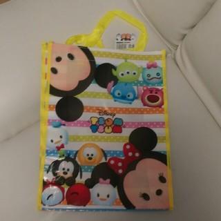 ディズニー(Disney)のツムツム 縦型レッスンバッグ 黄色(バッグ/レッスンバッグ)