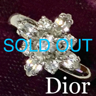 Christian Dior - 【SOLD OUT】ディオール フリーサイズ リング 簡単サイズ調節