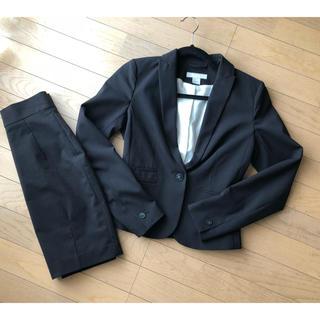 462c5026b06c6 H&M パンツスーツ135センチ 三点セット ブラック. ¥5
