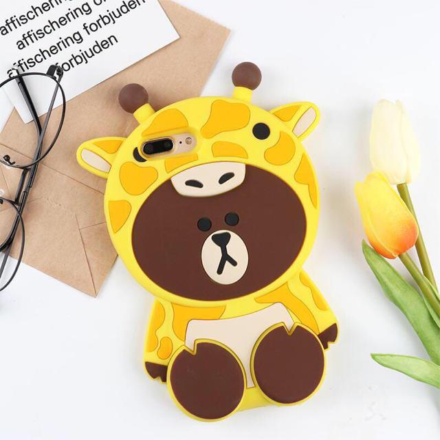 キリンブラウンiPhone SEから XR. XSMAXまで各機種対応の通販 by GV kim's shop|ラクマ