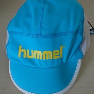 ヒュンメル(hummel)のサッカー用キャップ hummel ヒュンメル UV ジュニアフットボール用 速乾(その他)
