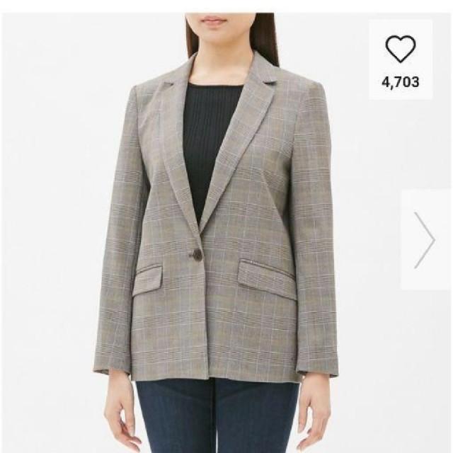 GU(ジーユー)の新品タグつきguテーラードジャケットsサイズ レディースのジャケット/アウター(テーラードジャケット)の商品写真