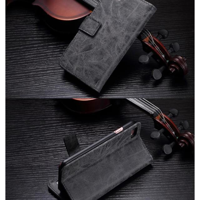 本革《牛皮》USEDユーズド加工☆iPhone7/8.X.XS.XR5機種^ ^の通販 by モンキースター's shop|ラクマ