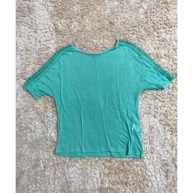 ZARA(ザラ)のZARA ニット レディースのトップス(Tシャツ(半袖/袖なし))の商品写真