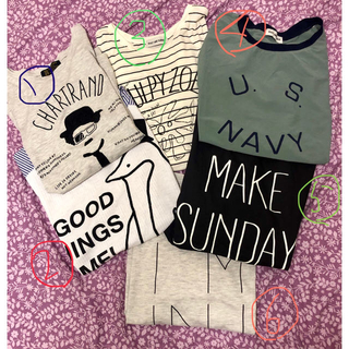 リベットアンドサージ(rivet & surge)のリベットアンドサージTシャツセット(Tシャツ(半袖/袖なし))